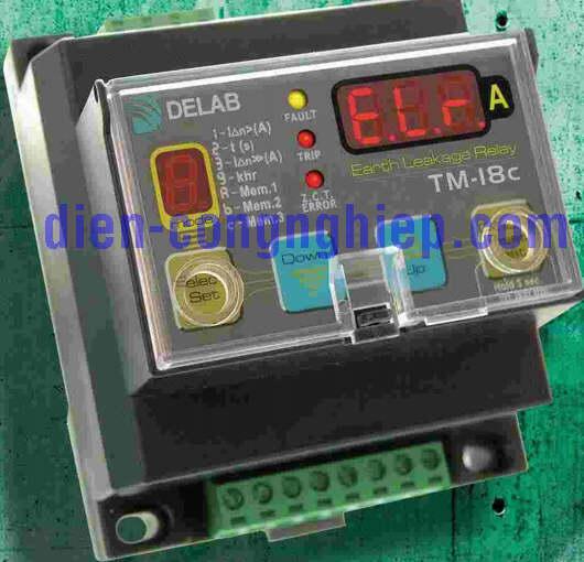 Hình ảnh relay bảo vệ dòng rò TM-18c