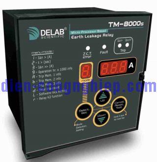 Hình ảnh relay bảo vệ dòng rò TM-8000s