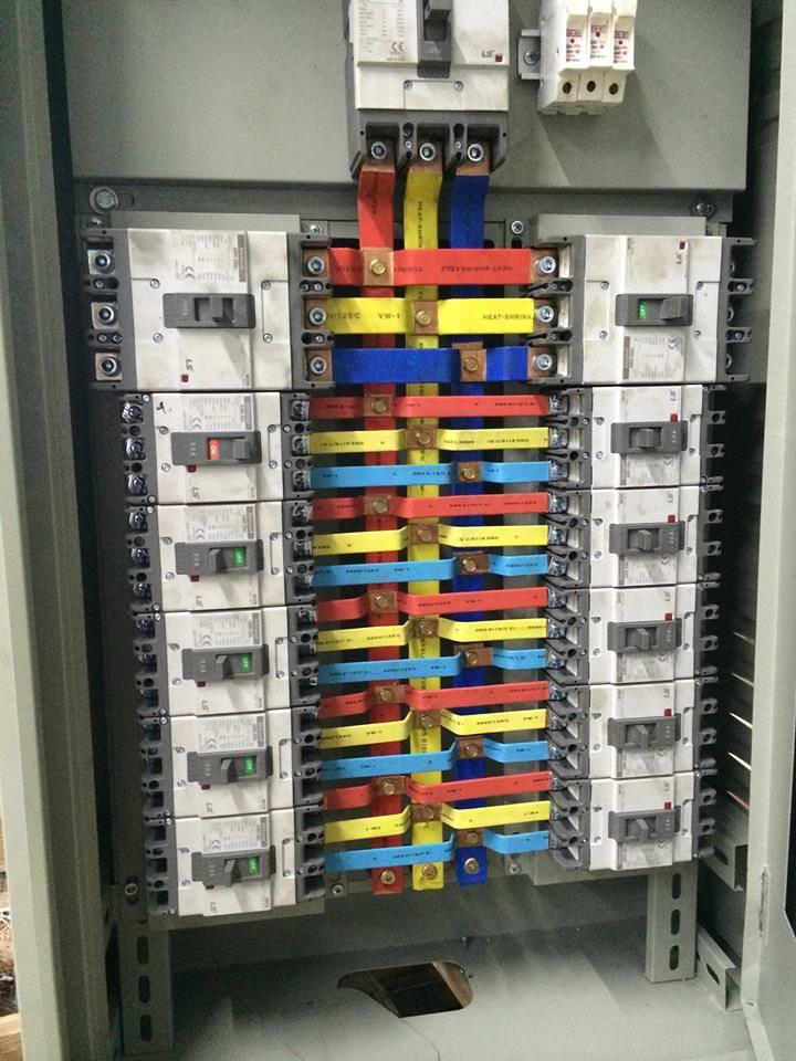 Kết quả hình ảnh cho Tủ điện phân phối
