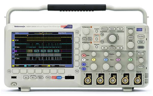 Tektronix Mixed Signal Oscilloscopes